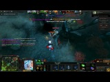 Raki v dote or Bloodseeker fail Dota 2
